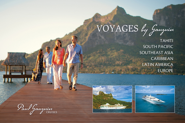 Voyages by Gauguin Ad
