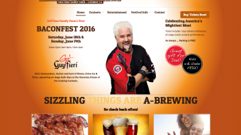 Baconfest Website